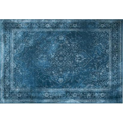 DutchBone Vloerkleed Rugged 200x300 cm Ocean