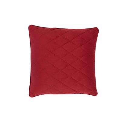 Zuiver Sierkussen Diamond Square Royal Red