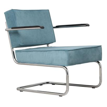 Zuiver Fauteuil Ridge Rib Lounge Arm