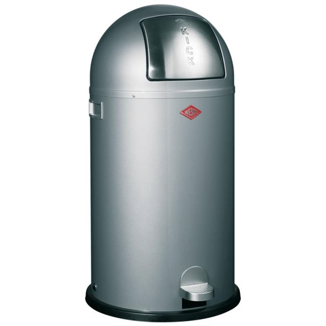 Wesco Kickboy 40 Liter Paars.Wesco Kickboy 40l Zilver 7002201437 199 00 Eliving