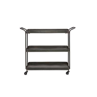 BePureHome Tea Trolley Zwart
