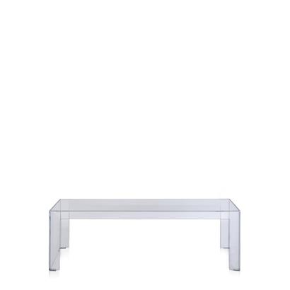 Kartell Salontafel Invisible Side Hoog