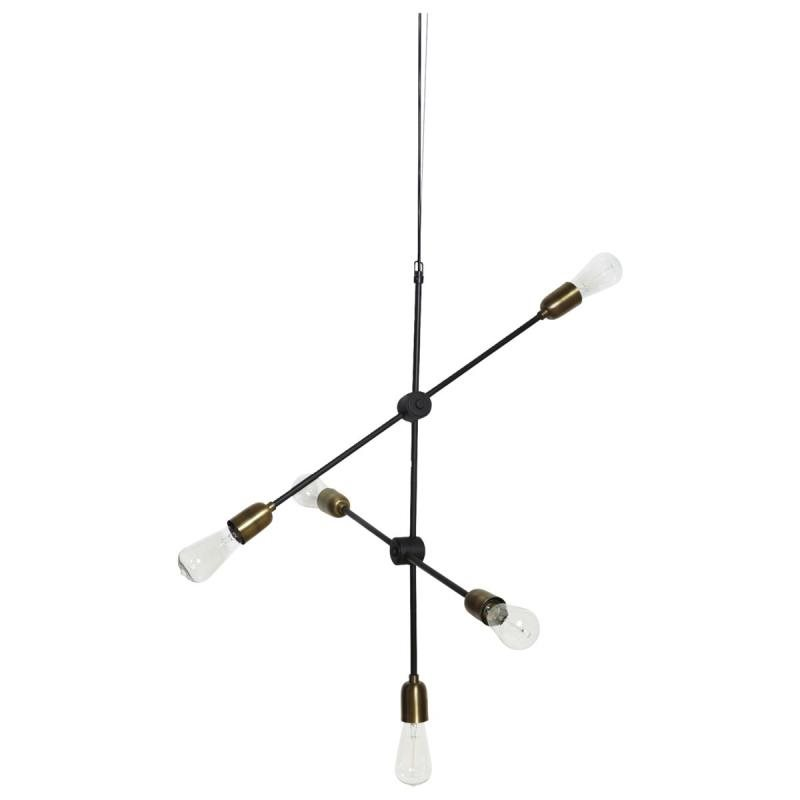 house doctor hanglamp molecular 5 lampen 219 00