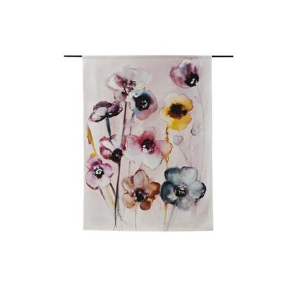 Urban Cotton Wandkleed Flowers in Soft Hues S (110 x 80 cm)