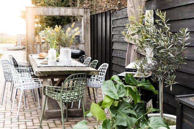 De perfecte tuinstoel