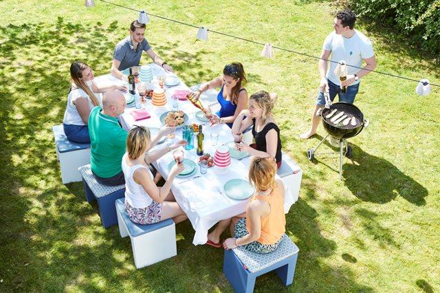 Maak ook een feestje van jouw tuin of balkon met de leukste Fatboy items