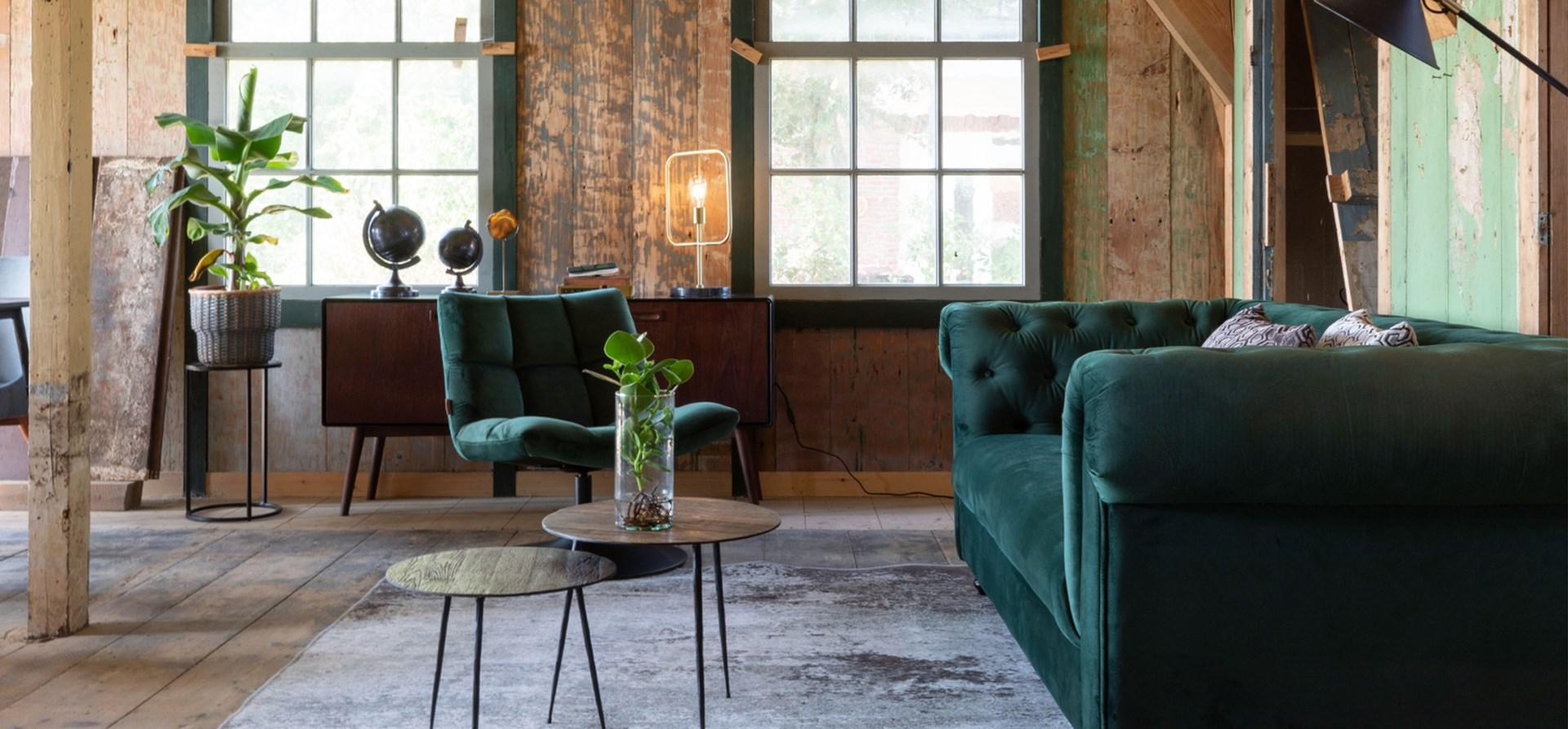 Go green verschillende kleuren groen in je interieur for Interieur kleuren