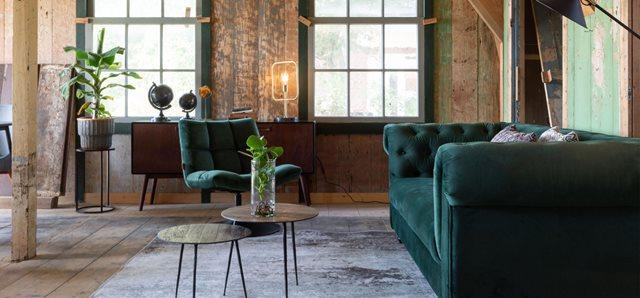 Go Green: Verschillende kleuren groen in je interieur
