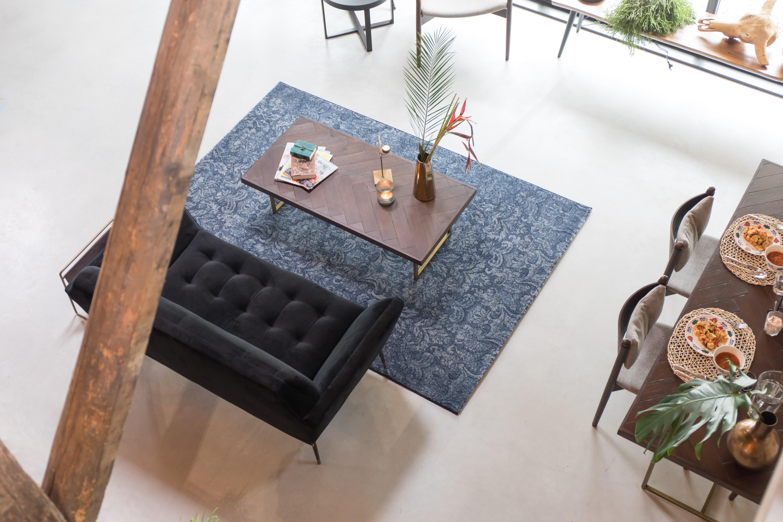 10x Visgraat Muur : Eettafels met visgraat patroon eliving