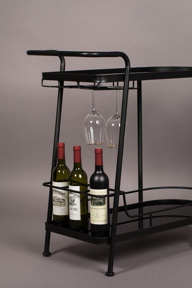 5x een trolley als mini-bar voor je drankenvoorraad