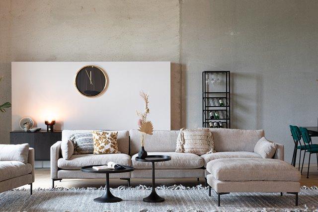 Zwarte ronde salontafels voor in elk interieur