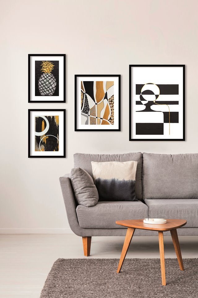 Urban Cotton Art Prints: een wand vol unieke design