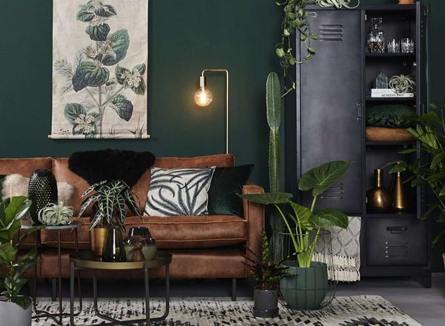 12 x groene muur combineren