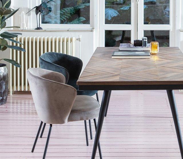 Eettafel Rhombic nu ook als salontafel
