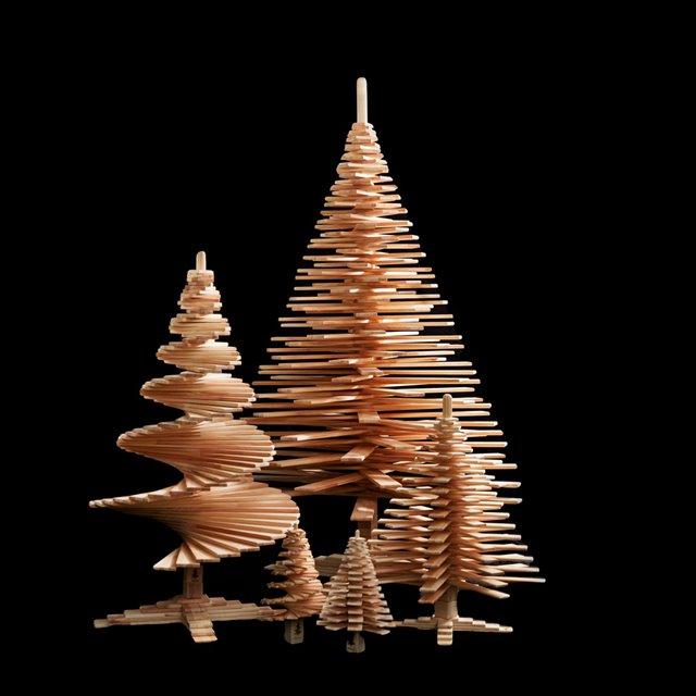 7 redenen waarom je een houten kerstboom wil