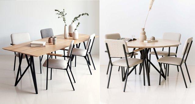 Een rechthoekige of ronde eettafel? Voor welke kies jij?