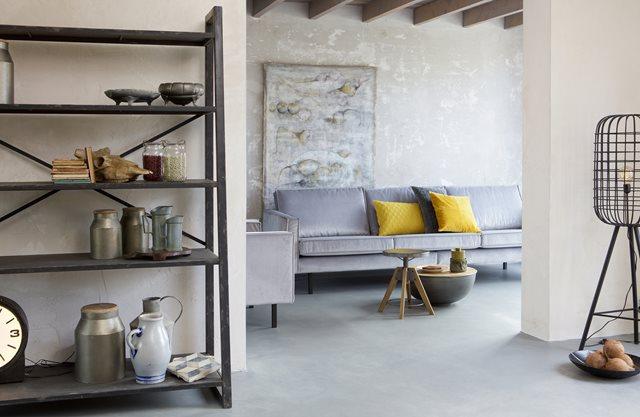 5 Tips voor een industriële woonkamer