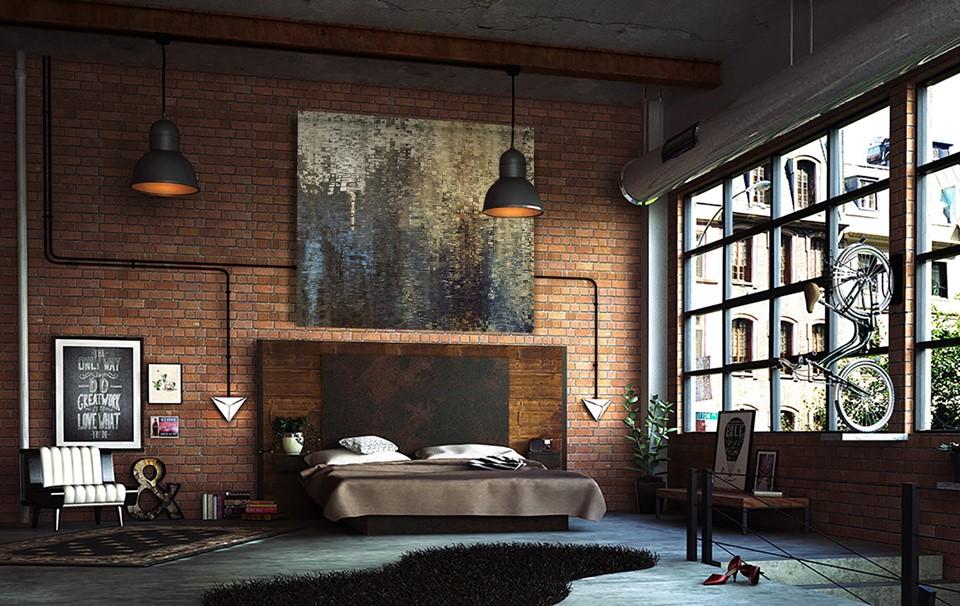 5 Tips Voor Een Industriele Slaapkamer Eliving